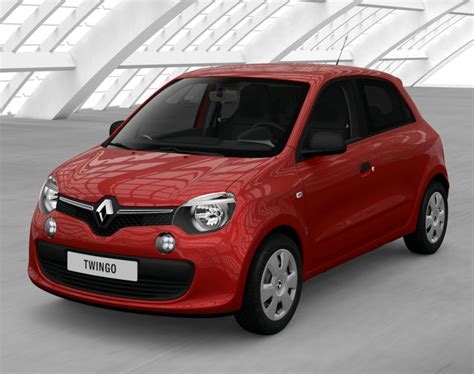 renault red renault twingo iii 2018 couleurs colors