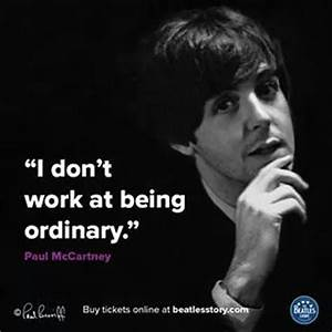 Best 25+ Paul m... Paul Mccartney Quotes