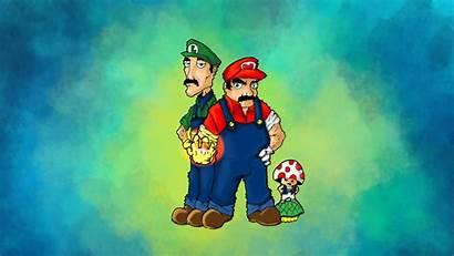 Mario Luigi Super Wallpapers Backgrounds Bros Wiki