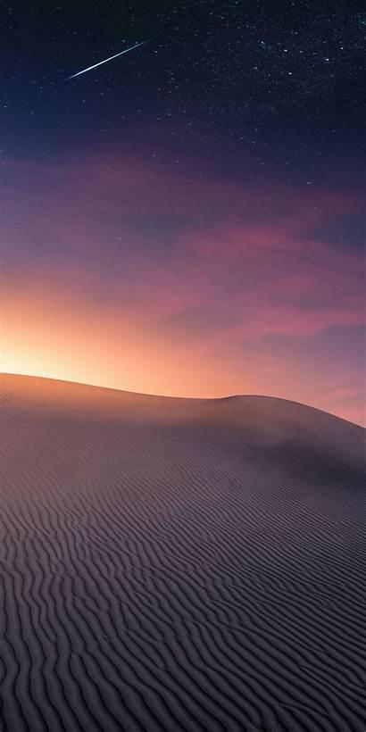 Desert Iphone Dunes Sand Sunset Wallpapers Sky
