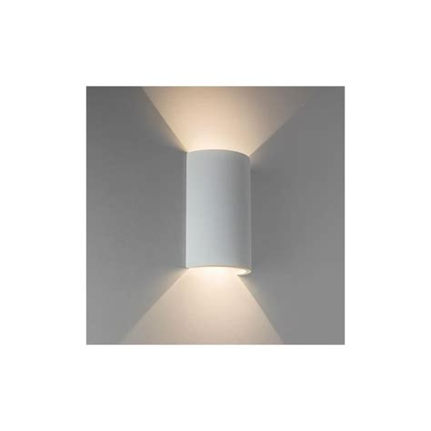 astro 7375 serifos 170 led up and wall light in white