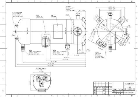 compressor hermetic scroll c scp510h38b panasonic