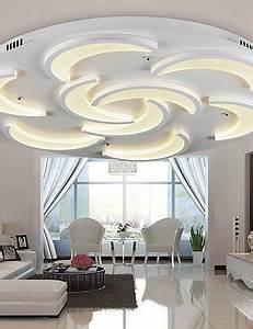 Wohnzimmer Lampe Modern : led lampen decke wohnzimmer hagebau ~ Indierocktalk.com Haus und Dekorationen