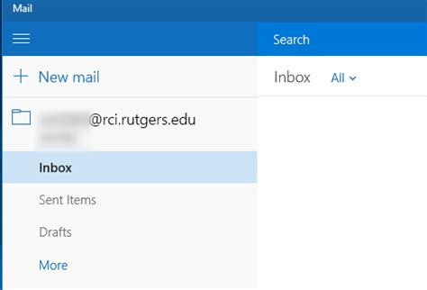 oit help desk rutgers configuring rci email on windows 10 mail oit new brunswick