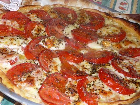 tarte 224 la tomate et 224 la mozzarella miss gourmandise
