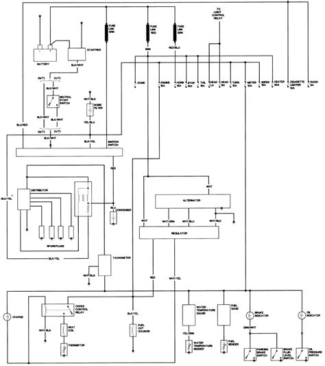 1980 Toyotum Truck Wiring Diagram by I Need Help With A Charging Problem On A Toyota