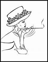 Hat Deviantart Drawing Elro66 Drawings Fabric Tekenen Kunst Doodle Stencil Wayne John Retro Gezichten Tekeningen Aluminiumfolie Kleurboeken Lijntekeningen Kleurplaten Mensen sketch template