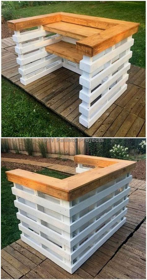 diy pallet bars     cost effective pallet