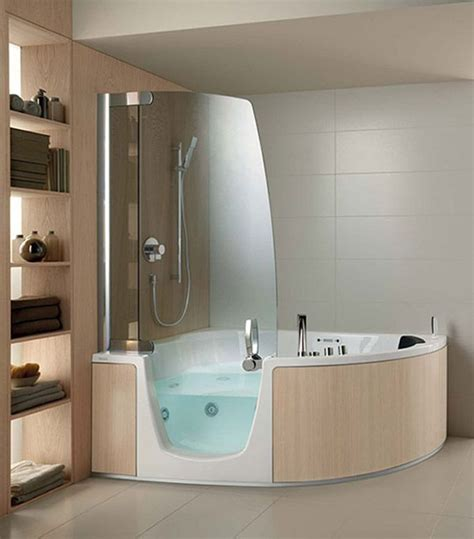 Whirlpool Badewanne Mit Dusche by Bath And Shower Combo S Corner Whirlpool Shower