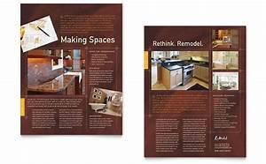Library Brochure Templates Home Remodeling Tri Fold Brochure Template Design