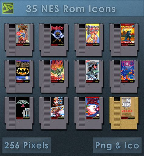 Nes Roms [cartridge Icons] By Voidsentinel On Deviantart