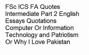 FSc ICS FA Quot... Pak Love Quotes