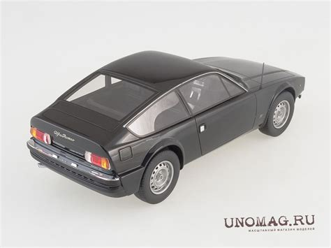 alfa romeo gt  junior zagato black  showcase