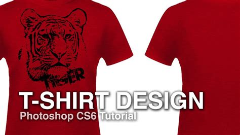 how to design a t shirt from a photograph photoshop tutorial youtube
