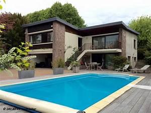emejing maison moderne en bois avec piscine photos With maison a louer cap ferret avec piscine 14 villa contemporaine en bois au cap ferret