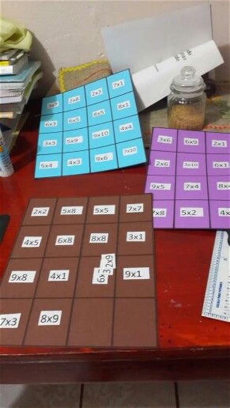 Para ello, podemos partir de una plantilla del juego que nos interesa y luego adaptarla a los contenidos que queremos que. Juego de mesa para practicar las tablas de multiplicar | multiplicar: juegos | Pinterest | Mesas