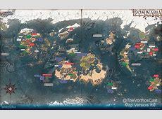 Detailed Dominaria Map Magic Storyline Magic