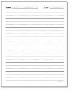 name writing paper for kindergarten primary handwriting paper all