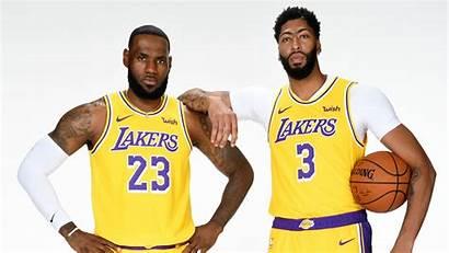 Nba Lebron Davis Anthony James Lakers