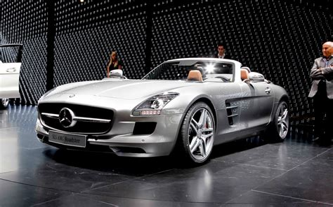 2012 Mercedes-benz Sls Amg Roadster First Look