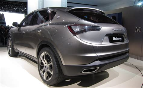maserati suv 2014 the maserati levante suv will not be jeep based after all