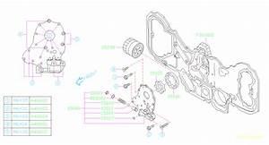 2006 Subaru Outback Engine Oil Pump  Pressure  Filter