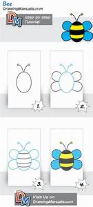 How To Draw A Bee For The Youngest Children  It U0026 39 S Easy And