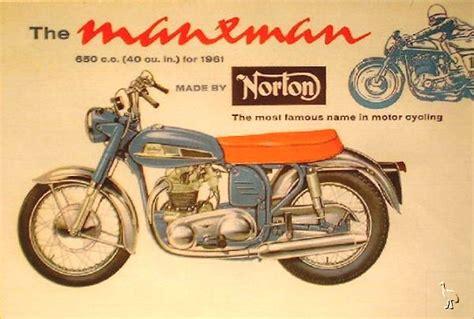 norton manxman classic motorcycle pictures