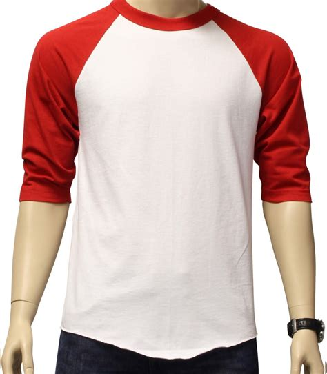 new 3 4 sleeve raglan baseball mens plain jersey team