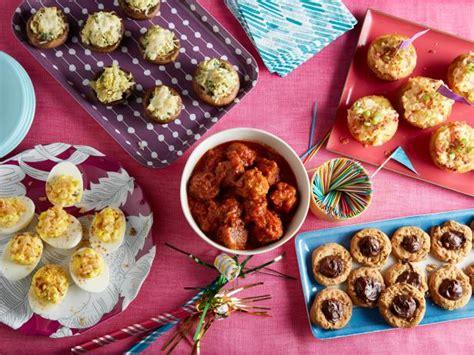 easy birthday party foods everyday celebrations recipes