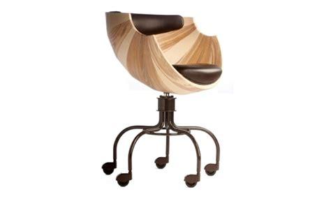 chaise de bureau bois chaise de bureau de design confortable et chic