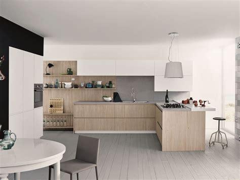 melamine fitted kitchen  peninsula maxima