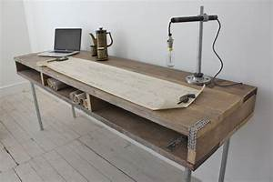 Tv Board Industrial Design : ellie reclaimed scaffolding board urban industrial chic long ~ Michelbontemps.com Haus und Dekorationen