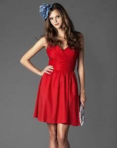 robe rouge ete With affiche chambre bébé avec robe fleur rouge