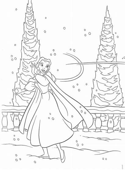Coloring Winter Disney Miracle Timeless Adult