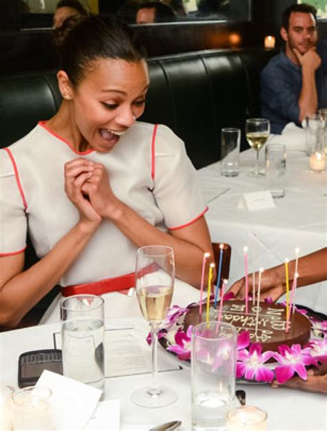 Celebrity Birthday Cakes  Zoe Saldana's Birthday Cake