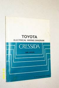 1989 Toyota Cressida Electrical Wiring Diagram Shop Manual