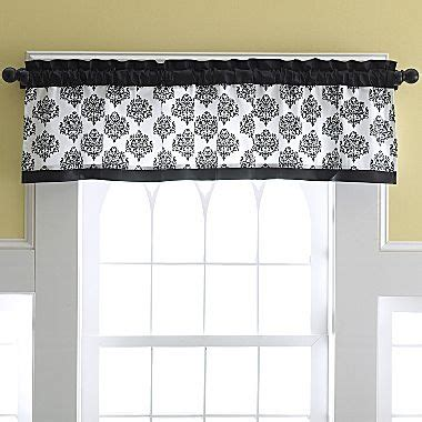 damask valance from jc penney what i want in my home