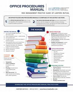 Office Procedures Manual - Infographic