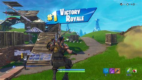 fortnite victory royale p gun widescreen