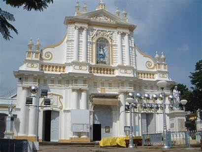 Pondicherry French Church India Colonial Inde Churches