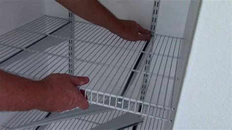 Installing Closetmaid Shelving by Install Closetmaid Shelftrack In Depth Diy Home