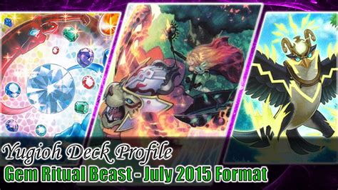 gem ritual beasts yugioh deck profile september 21st