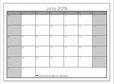 Calendarios julio 2019 DS Michel Zbinden es