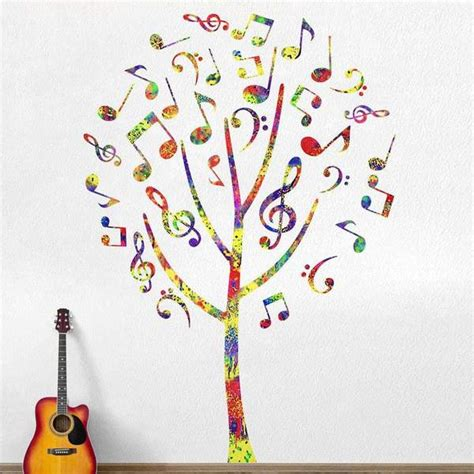 note tree sticker decal