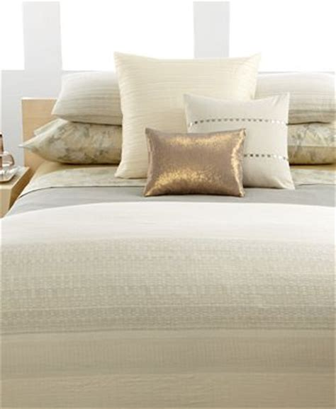 calvin klein bedding macys closeout calvin klein home bedding neutral weave