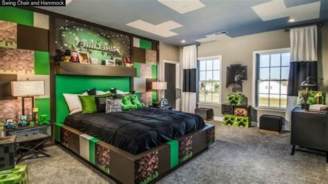 Minecraft Bedroom Ideas In Real Life  Youtube
