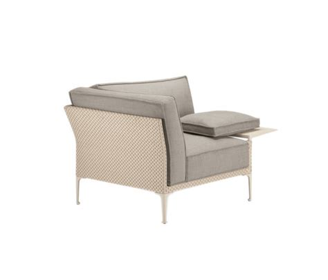 rayn lounge chair garden armchairs from dedon architonic