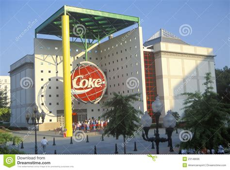 siege social colas former of coca cola atlanta ga editorial photo