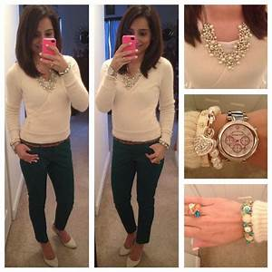 Office outfit idea | Pearls and Pink Pensu0026#39; Style | Pinterest
